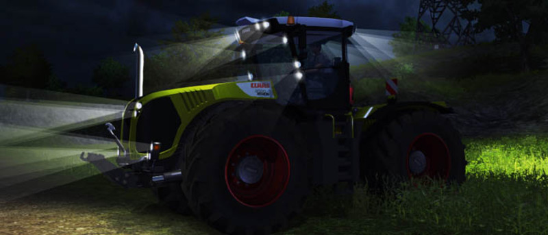 Claas Xerion 5000 v1 TracVC Night Edition