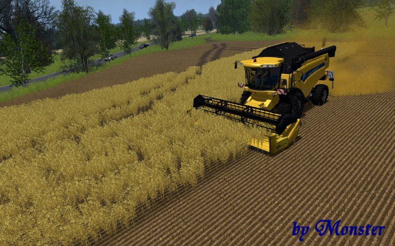 New Holland CX 5080 by Monster