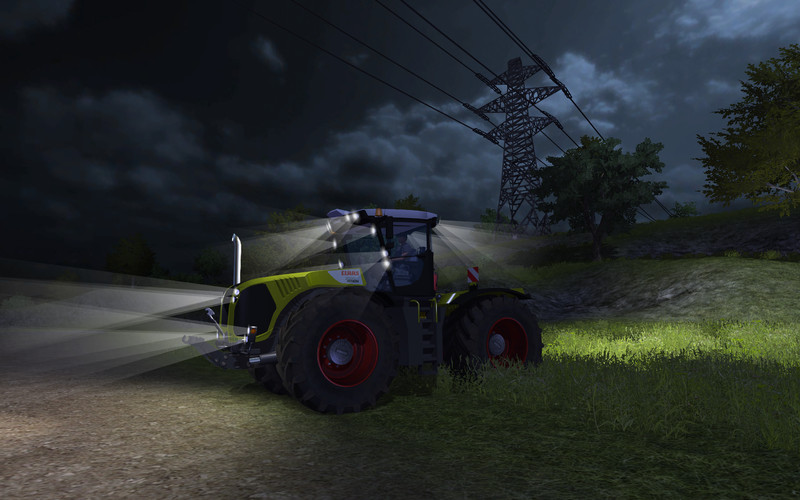 ClaasXerion5000TracVC Night Edition v 2.0