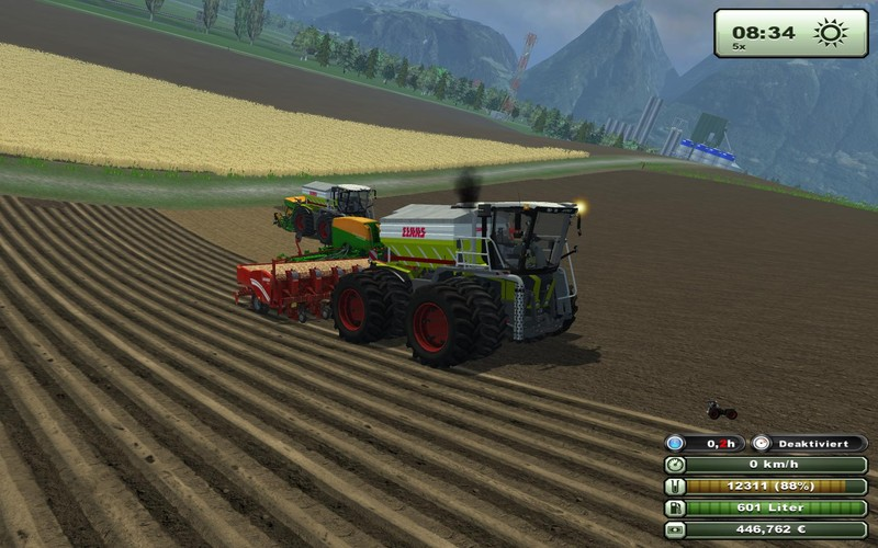 Claas Xerion3800 SaddleTrac pack