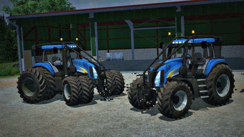 New Holland T8050 Forest