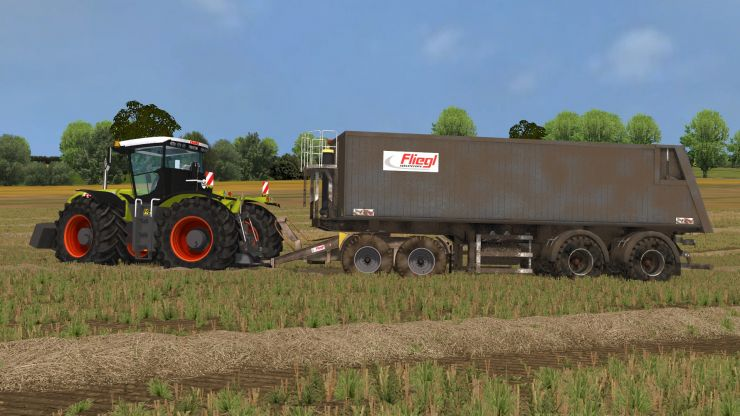 FLIEGL AGRO TRAILER + FLIEGL DOLLY V1.0