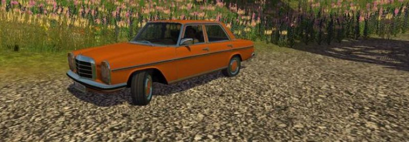 Mercedes Benz 220D v1.0 by Oldcarfan MR