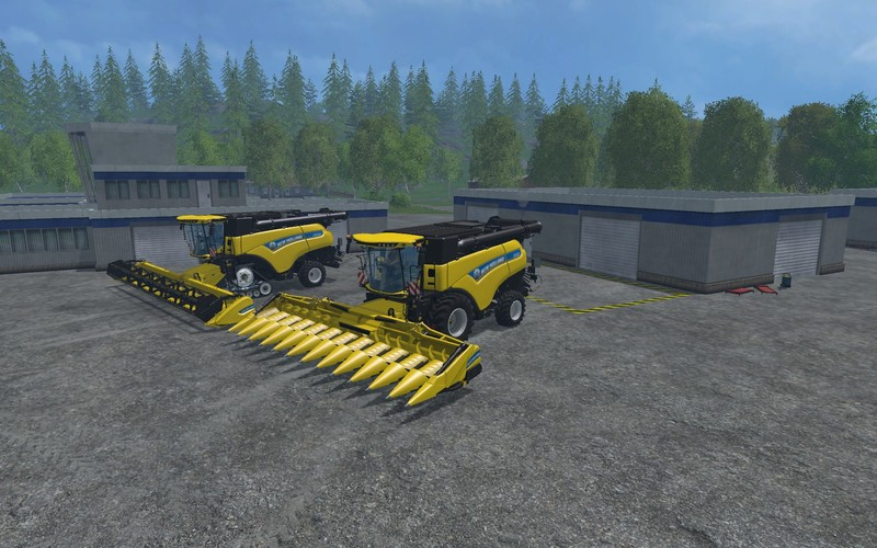 FS15 New Holland CR1090 pack