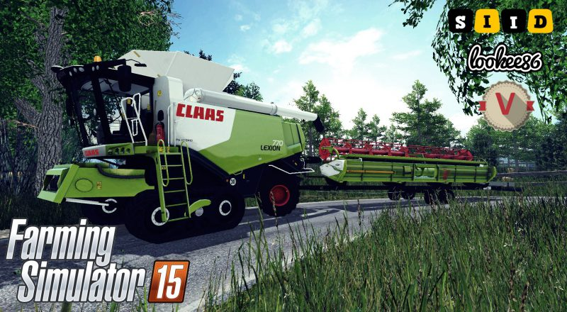 FS15 CLAAS LEXION 770 v1.3 Final Version v3