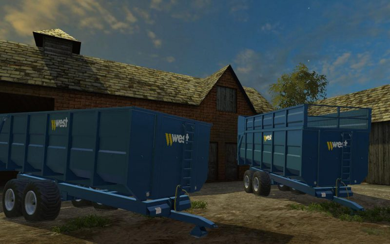 WEST 16 TONNE TRAILER V 3.0