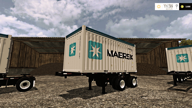 FS15 USA Container Pack v1