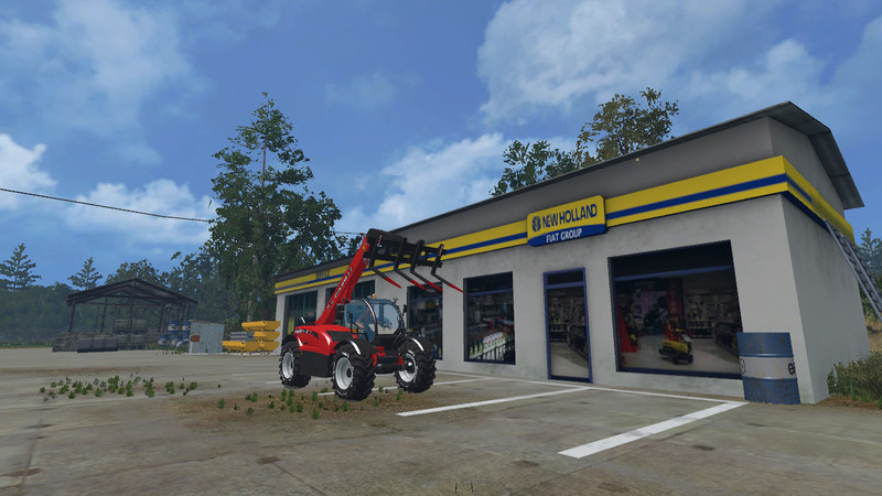 FS15 Case Farmlift 632