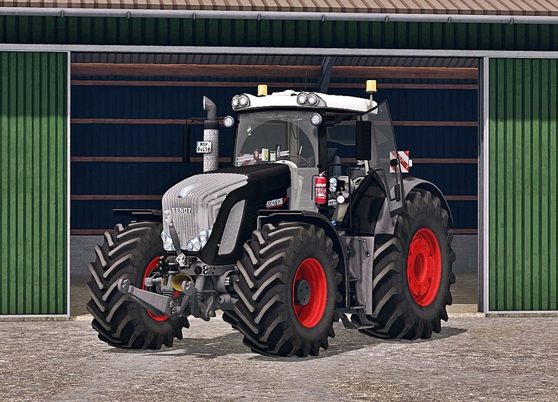 FS15 Fendt 936 Vario Black Beauty Waschbar