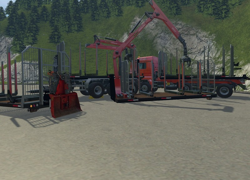 FS15 ITRunner Forstedition Container Pack v0.6