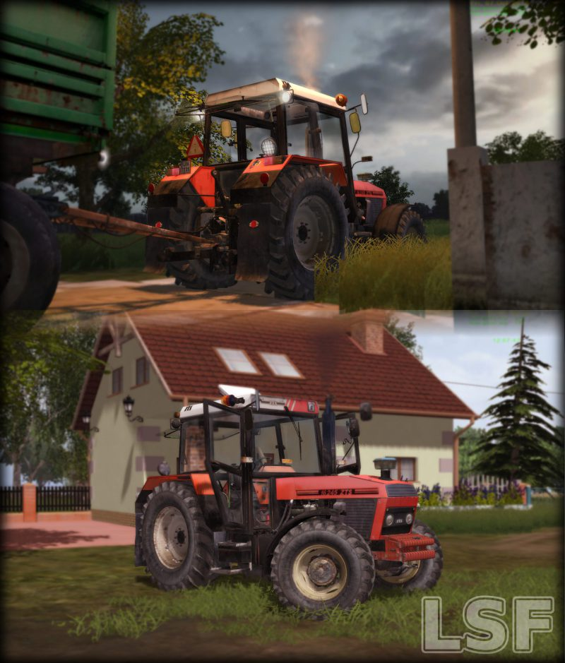 LS2013 Zetor 16245 TURBO LSF