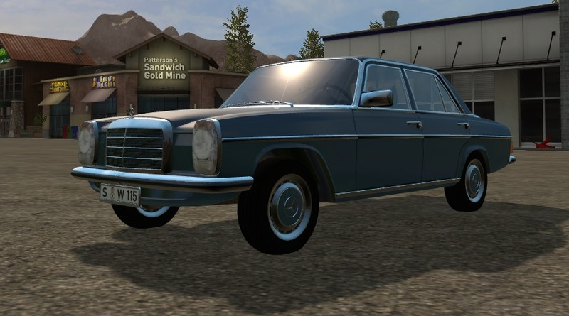 FS17 Mercedes-Benz 200D 1973