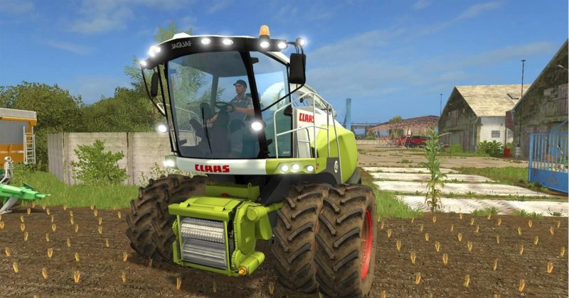 FS17 Claas Jaguar 800 Series Pack v 1.1.0.0