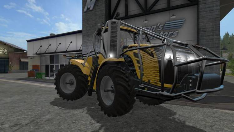 FS17 Forest Edition Challenger MT900e