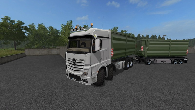 FS17 Mercedes Actros MP4 IT Runner 8x8