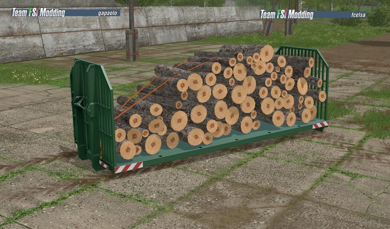 FS17 Moduł do drewna IT Runner Autoload