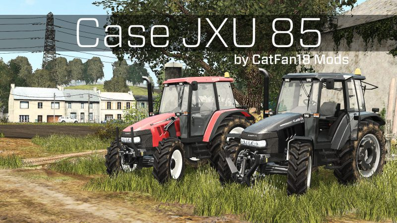 FS17 Case JXU 85 Pack v1.1