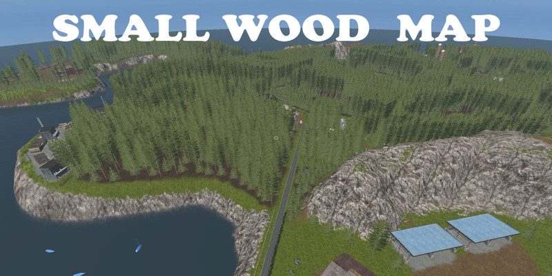FS17 Small Wood Map v1.1