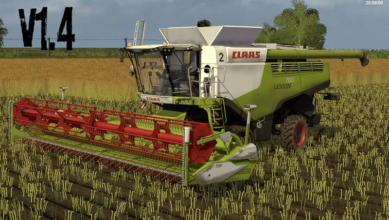 FS17 Claas Lexion 700 STAGE IV Pack v1.4.2