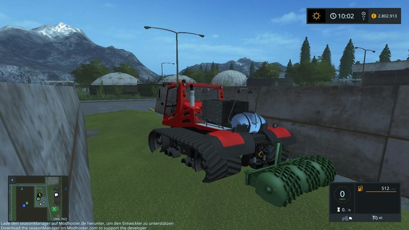 FS17 Kässbohrer Pistenbully Silageedition v2