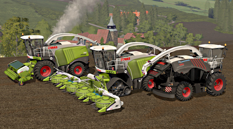 FS17 Claas Jaguar 900 Series Typ 497 v2 Beast Pack