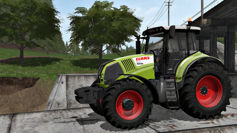 FS17 Claas Axion 820 v1.1