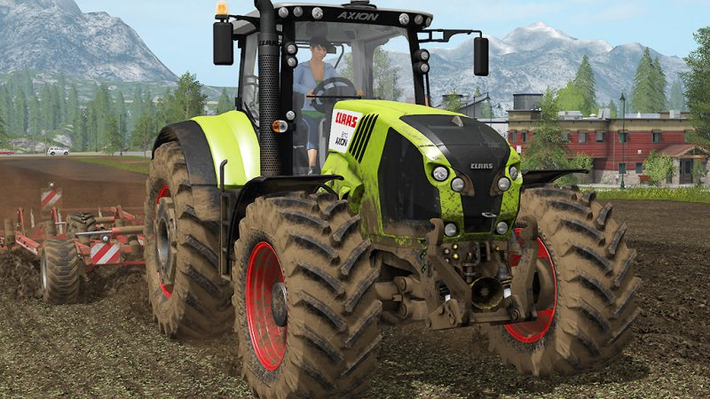 FS17 CLAAS Axion 800