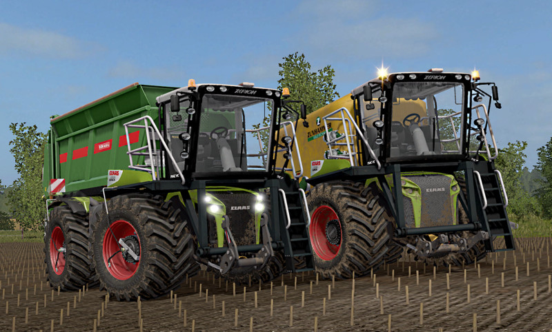 FS17 Claas Xerion 4000 Saddle Trac