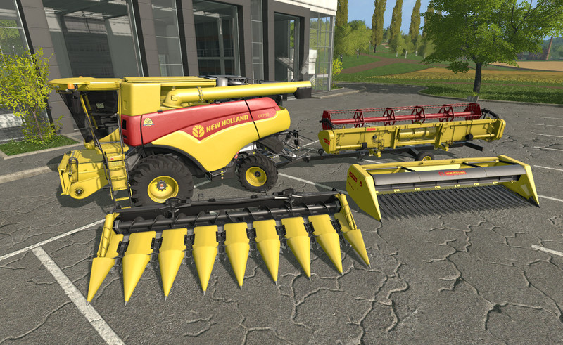 FS17 New Holland CR 7.90 120 Years pack