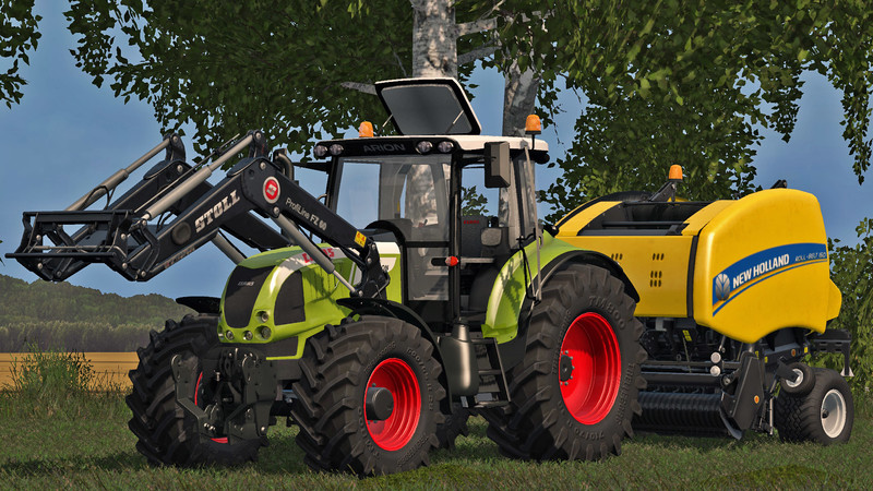 FS17 Claas Arion 600 (610, 620, 630) v2