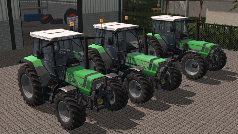 FS17 DEUTZ AGROSTAR 4.71 – 6.31 SET
