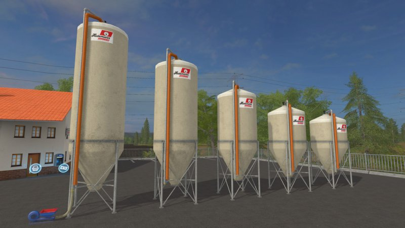 FS17 OUTDOORSILO-PACK TYP A HEDEMANN