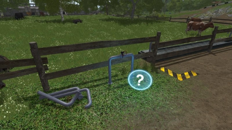 FS17 WATER TROUGH ADDON