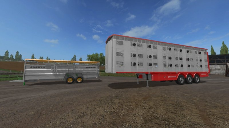 FS17 ANIMAL TRAILER PACK V1.0.0.1