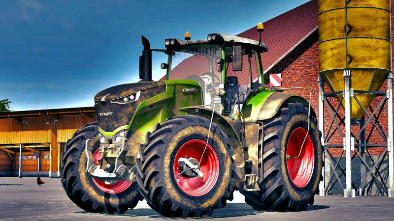FS17 FENDT 1000 SERIES