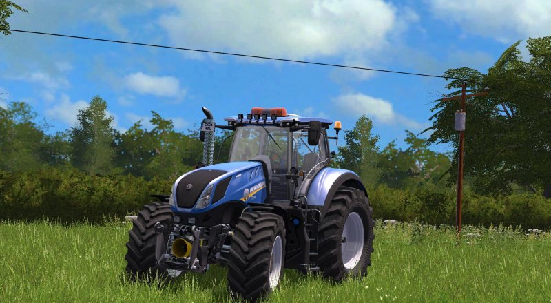FS17 NEW HOLLAND T7 MODIFIED