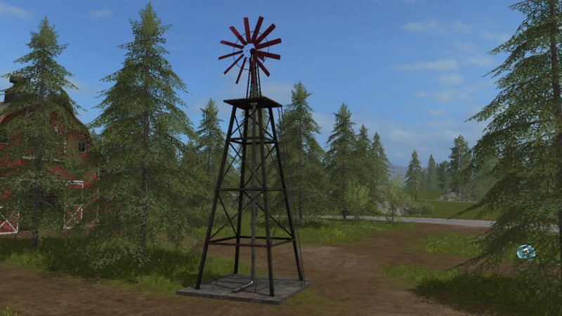 FS17 Windmill Watersupply GE