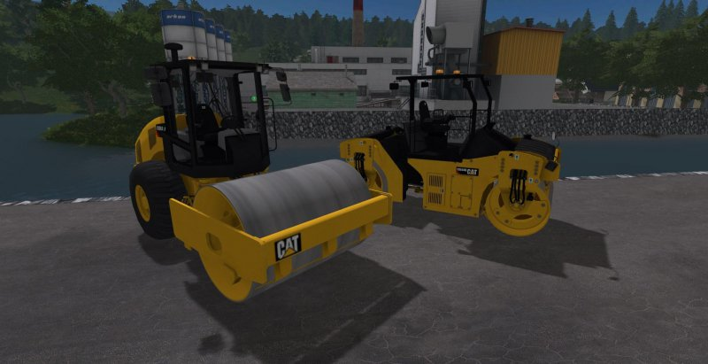 FS17 CATERPILLAR CB44B + CS56B