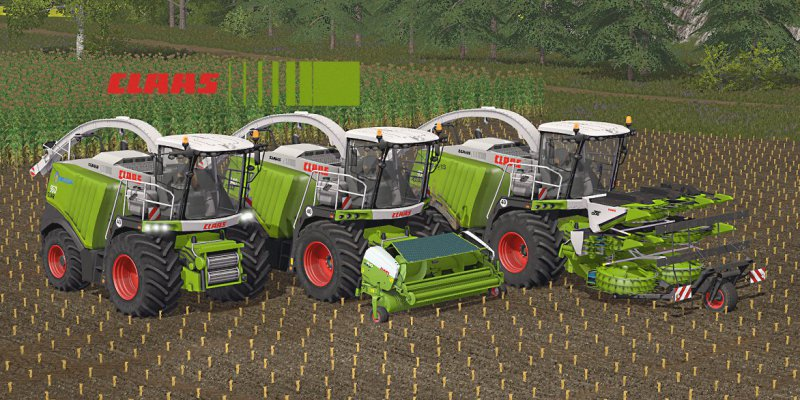 FS17 CLAAS JAGUAR 900 SERIES V3.0 FINAL