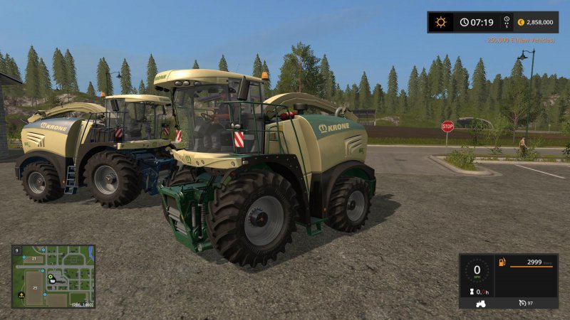 FS17 KRONE BIG X PACK