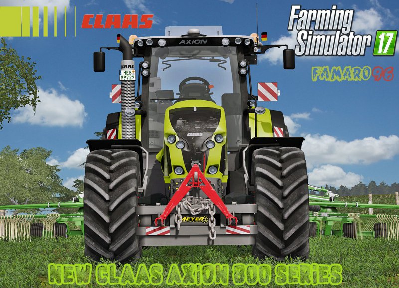 FS17 CLAAS AXION 800 SERIES