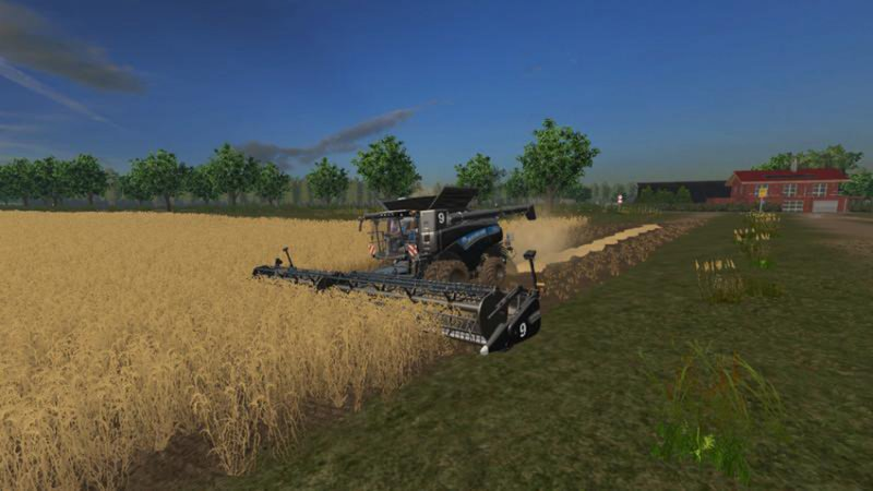FS17 NEW HOLLAND CR 10.90 WITH MANY EXTRAS