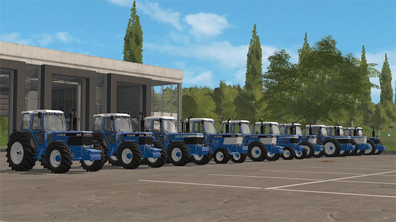 FS17 Ford Pack