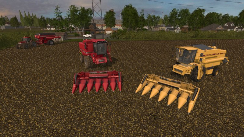 FS17 Geringhoff Mais Star MS 600 F for Case IH 1660 & New Holland TX 34