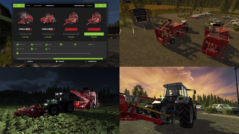 FS17 Grimme Rootster 604