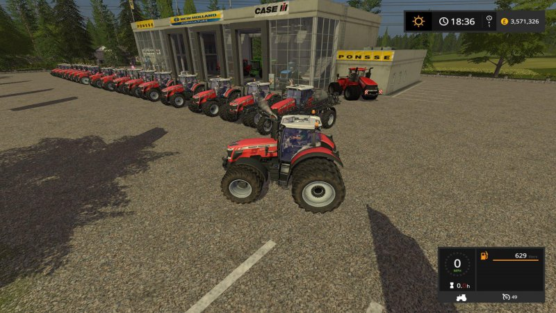 FS17 Massey Tractor Update by Stevie