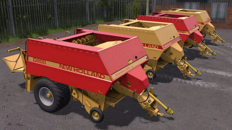 FS17 New Holland D1000 V1.0.2 kompatybilna z UAL