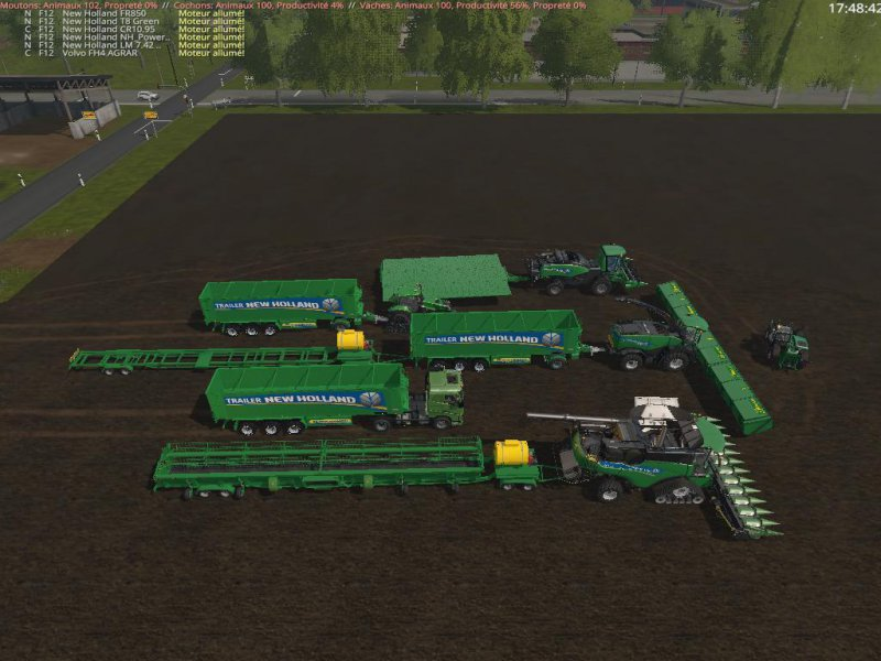 FS17 PACK SPECIALE SILAGE GREEN v2