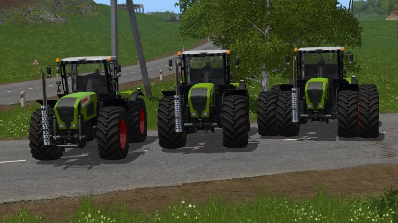FS17 Claas Xerion 3000 Series