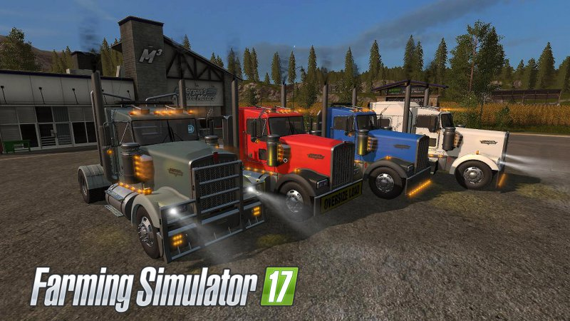 FS17 Kenworth W900 Pack V1.2.0.0